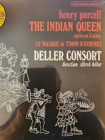 Henry Purcell<br>The Indian Queen (Op©ra En 5 Actes) / Le Masque De Timon D'Ath®nes